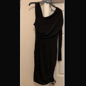 VENUS Dresses - Black one sleeve dress